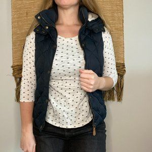 H&M Puffer Vest with Removable Hood